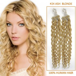 20-inch--24-ash-blonde-curly-micro-loop-human-hair-extensions-100s-10929-t
