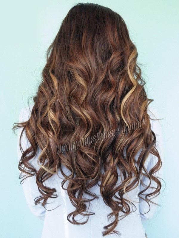 Reddish Brown Hair With Caramel Highlights Dark Hairs