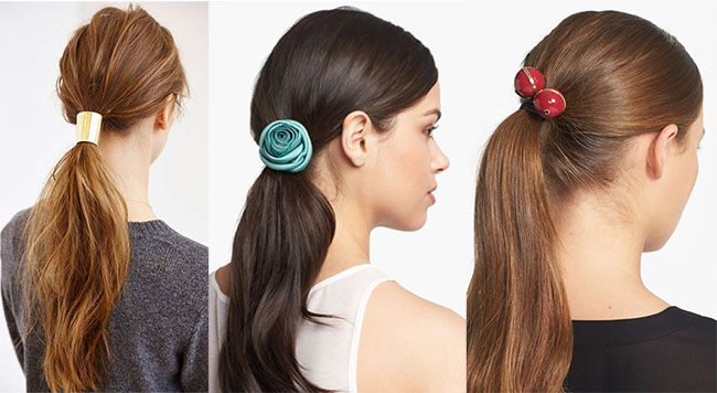 Get Creative Ponytail with Ponytail Holder