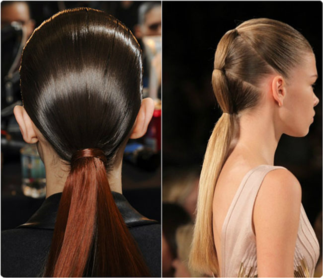 Ombre Ponytail Hairstyle