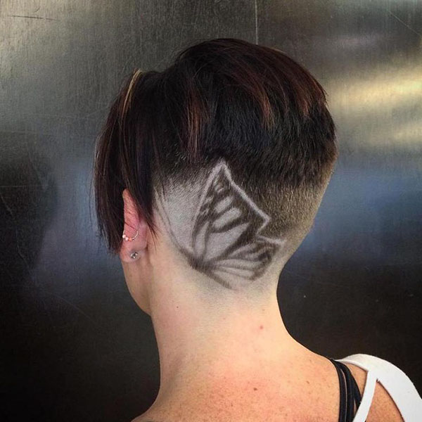 Butterfly Side Undercut