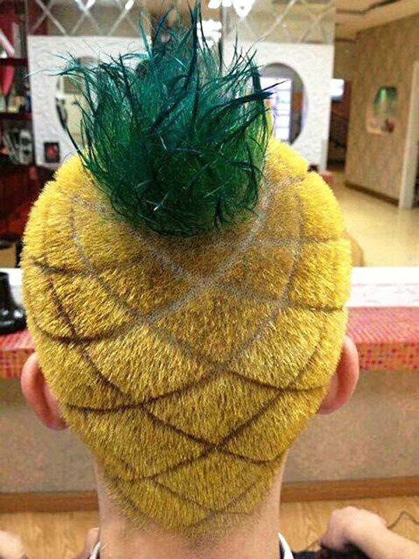 Pineapple Undercut